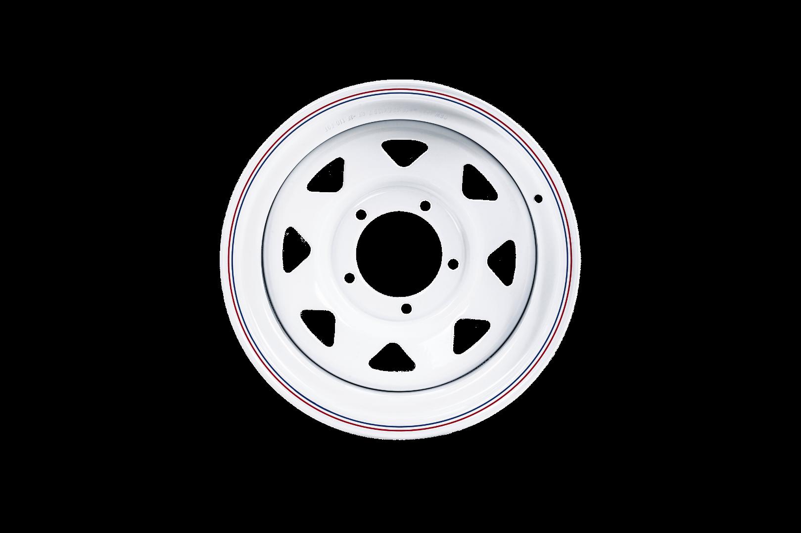 ORW диск усиленный стальной УАЗ 16x8 5x139.7 d110 ET0 белый №84